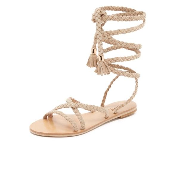 "4b1ca42e0917 Raye the Label ""Sadie"" Gladiator Sandals"